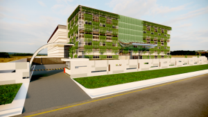 Image of Proposed Design of Data Center Building